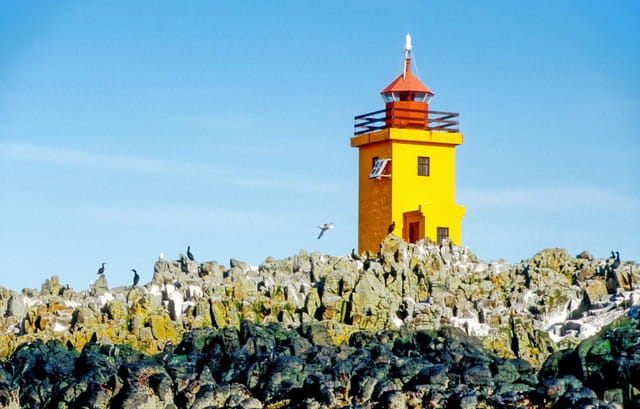 Grimsey, le phare.