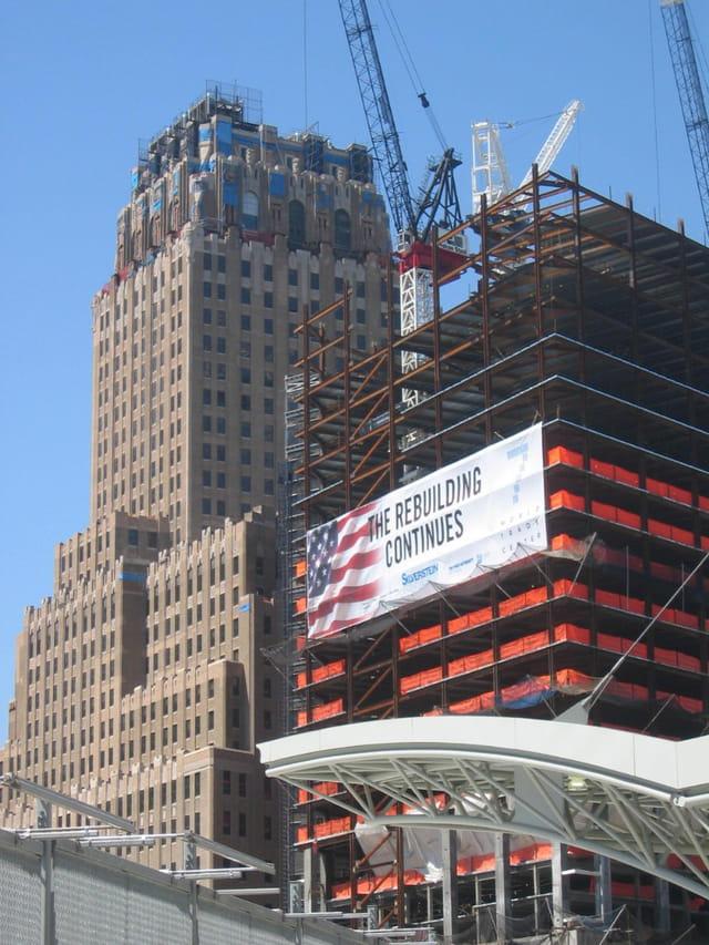 Ground zero - rebuilding