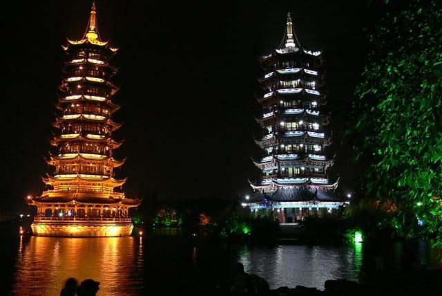 Guilin-pagodes