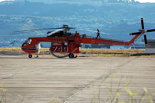 Hélicoptère air crane