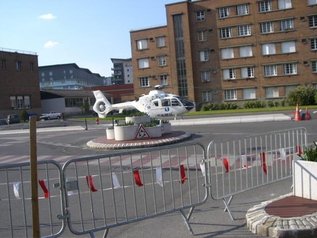 Hélicoptère du samu