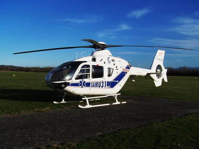 Hélicoptère - Samu 31.