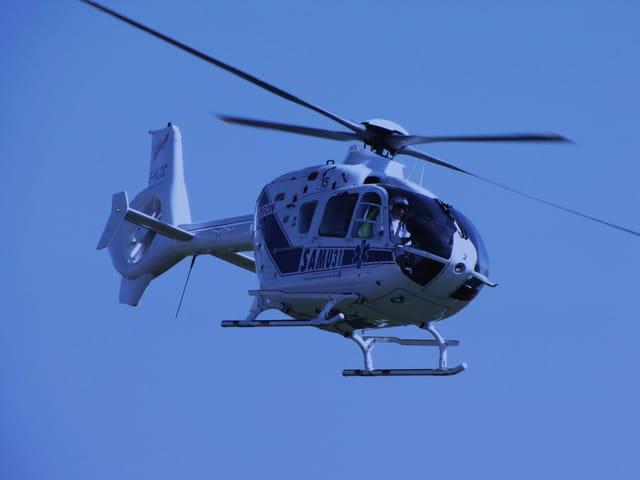 Hélicoptère SAMU 31.