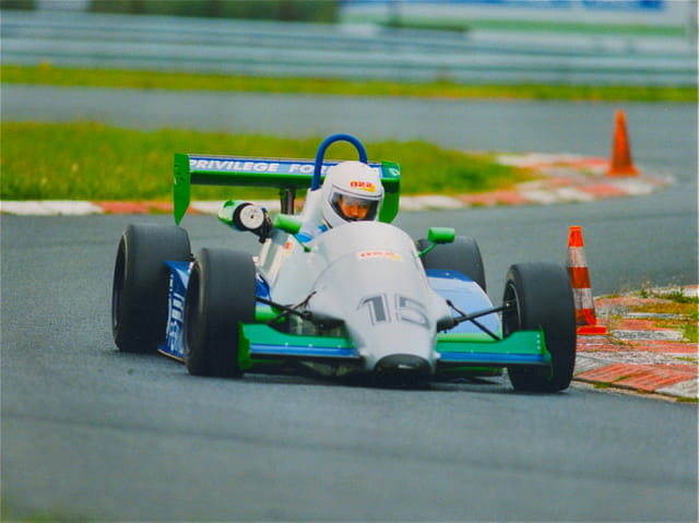 Hervé Lecuyer Formule 3 Circuit La Chatre