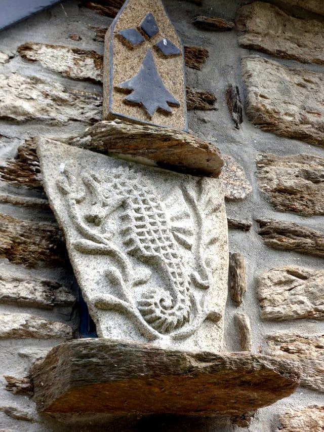 hippocampe de pierre