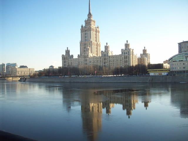 Hiver doux à Moscou
