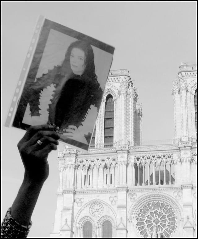 Hommage à Michael Jackson à Notre-Dame