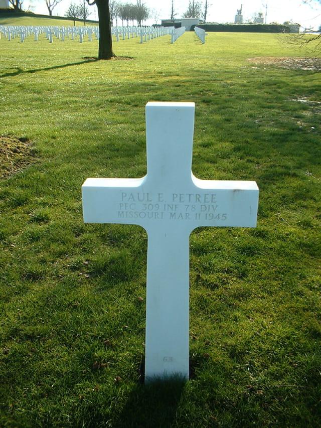 Hommage au soldat américain