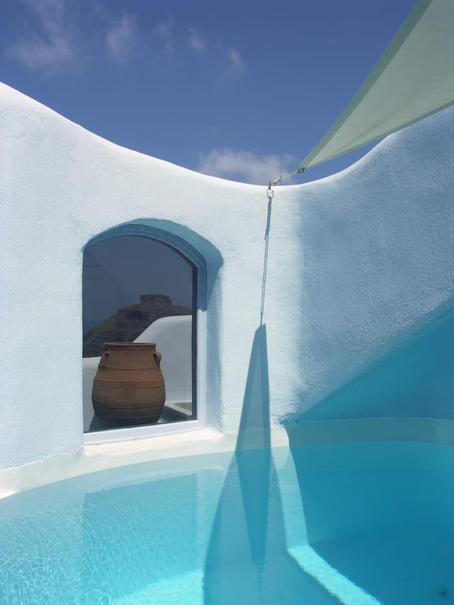 hotel de rêve à Santorin