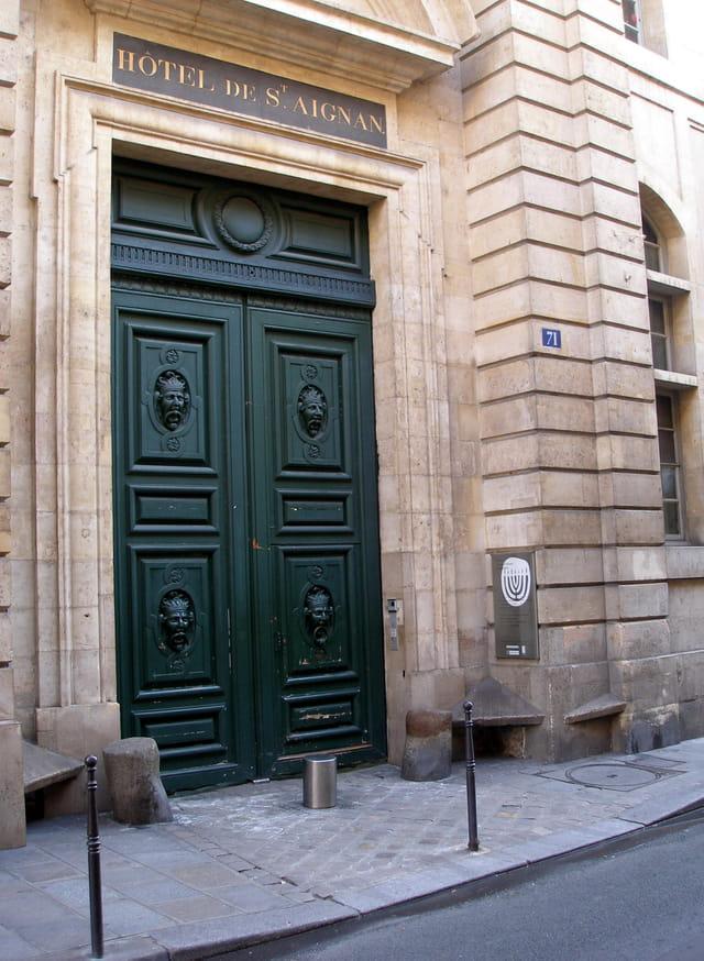 Hôtel de Saint Aignan