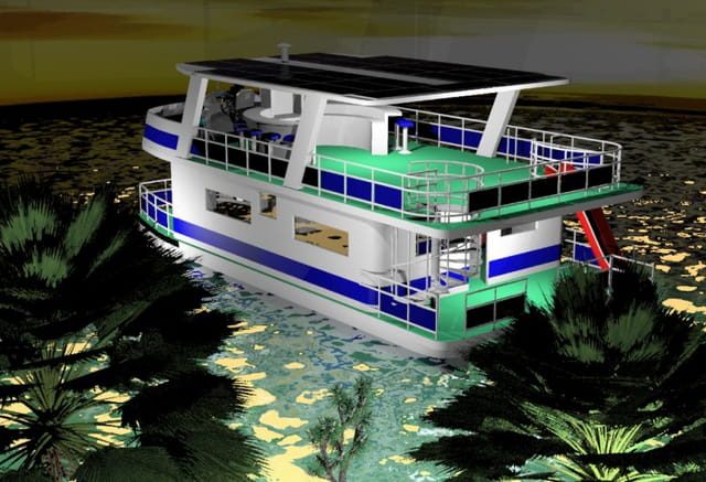 House Boat solaire 2