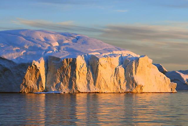 Iceberg en or