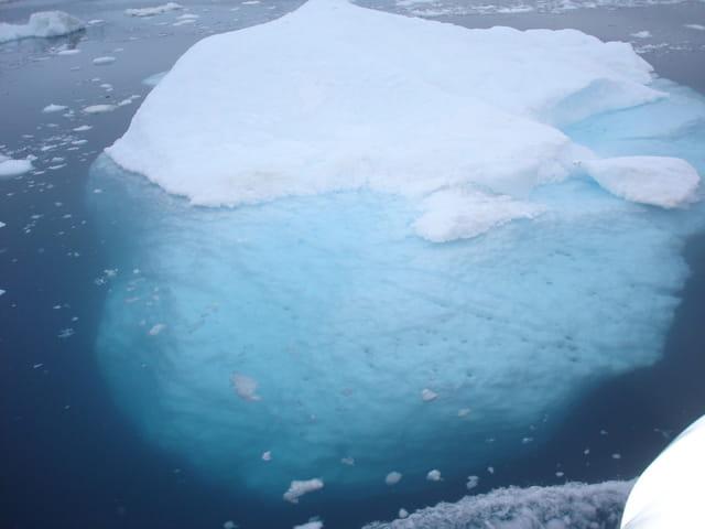Iceberg et sa partie immergée
