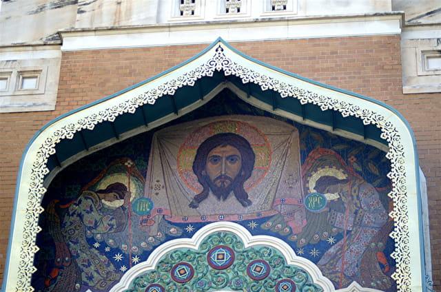 Icone de l'église russe