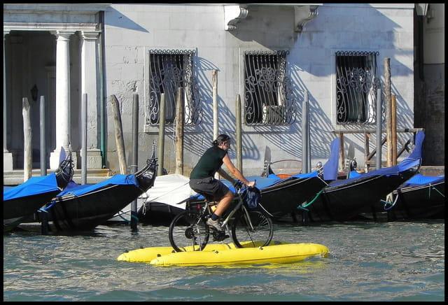 Il n'y a pas que les gondoles, à Venise !