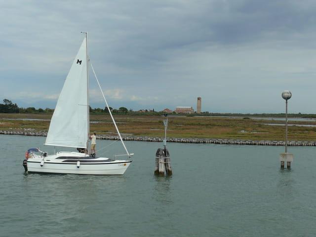 Ile de Torcello dans la lagune