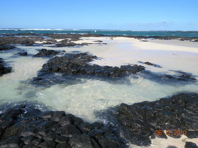 Ile Maurice - Plage volcanique