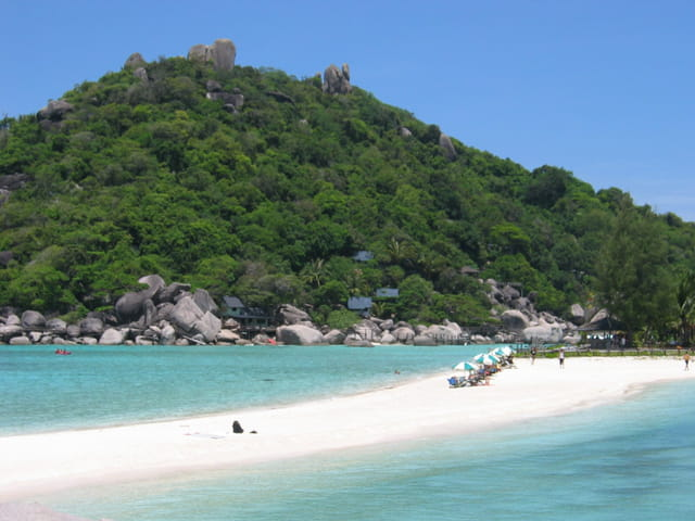 Ile paradisiaque de Thaïlande