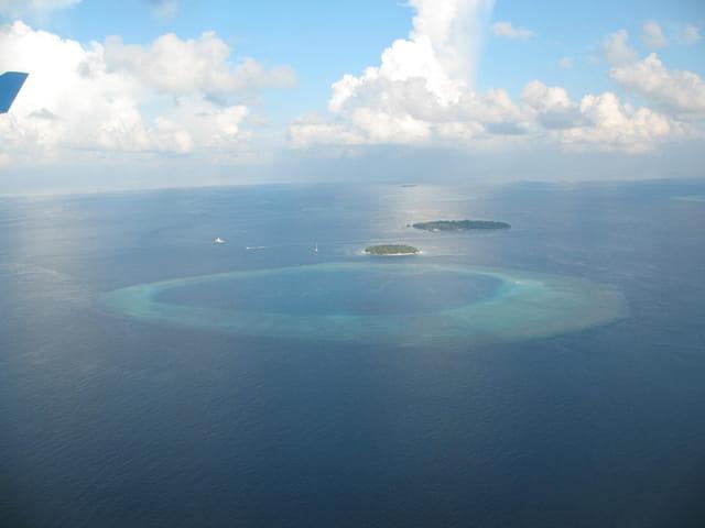 �le Thulagiri vue du ciel