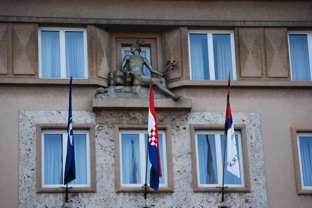 immeuble de la Place Ban Josip Jelacic