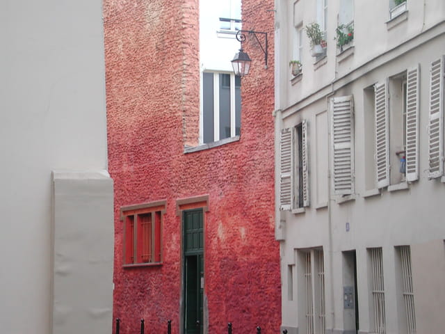 Immeuble rouge