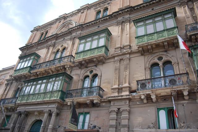 immeuble typique de La Valette