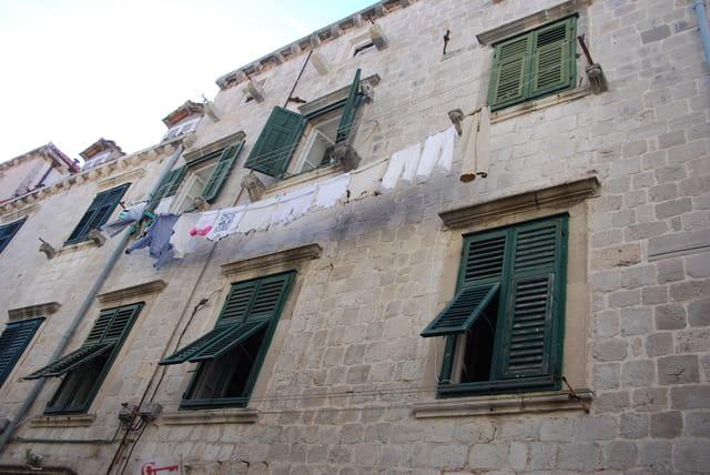 immeubles de Dubrovnik