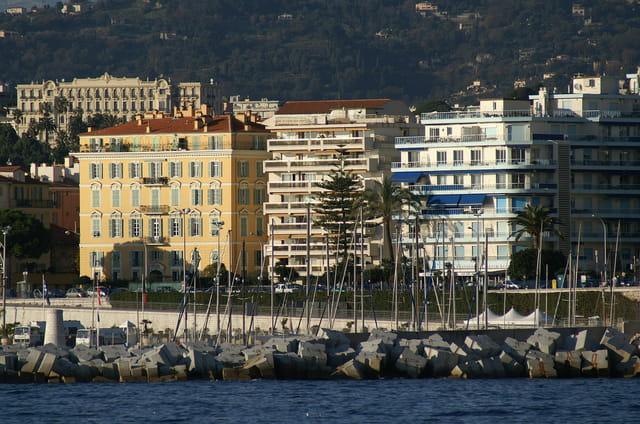 Immeubles en front de mer