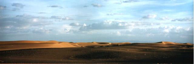 Infini dans le désert