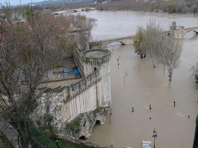Inondation en Avignon