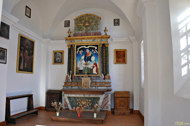 Interieur chapelle Saint Bernard