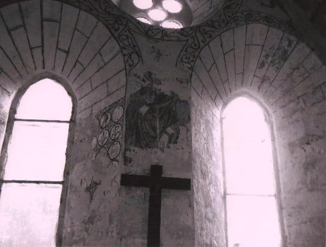 Intérieur d église