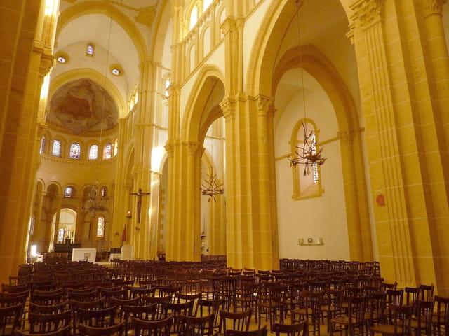 Intérieur de la Basilique du Sacré-Coeur