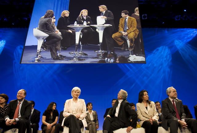 Interventions des différents candidats UMP pour les mairies parisiennes