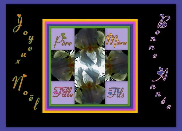 Iris de tous les voeux de fin d'année