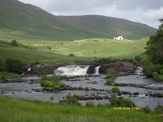 Un paysage du nord du connemara