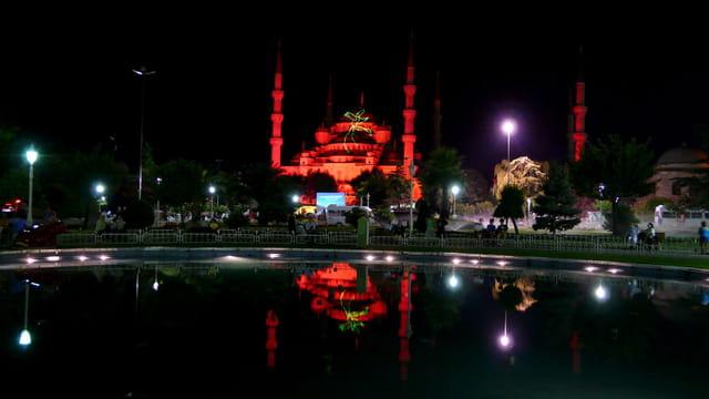 Istanbul - La Mosquée bleue
