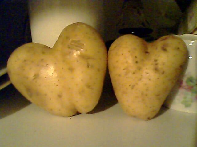 J'ai le coeur patate