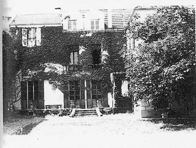 Jacques Tari : la maison de l'Ermitage au Pecq (1)
