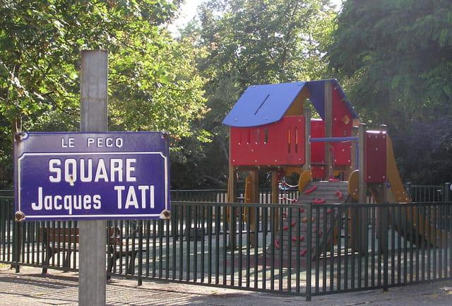 Jacques Tati est né au Pecq, il y a 100 ans