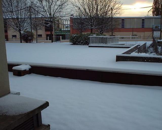 Janvier sous la neige
