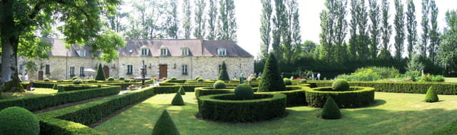 Jardin abbaye de st gond