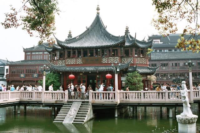 Jardin d'intérieur chinois
