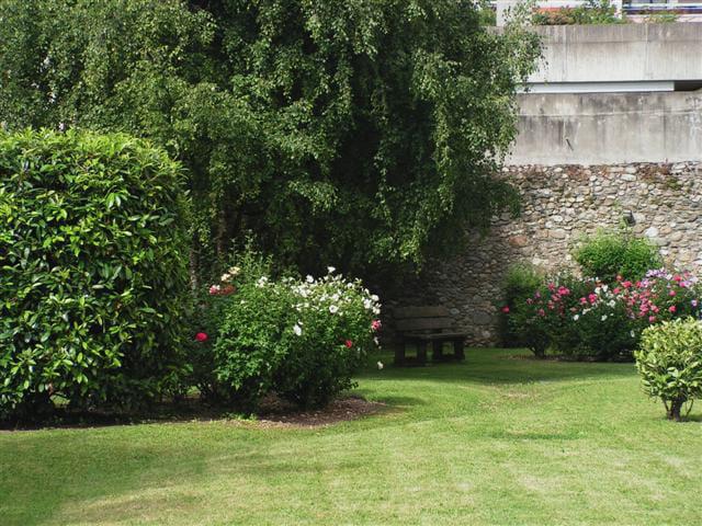 Jardin d\'une résidence Privée