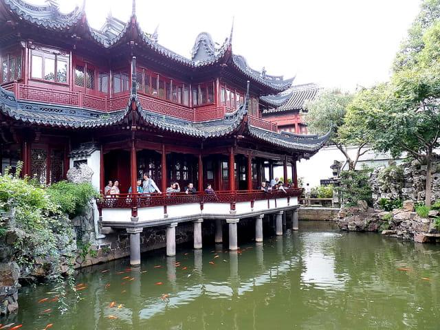 Jardin de yuyuan par christian villain sur l 39 internaute for Le jardin yuyuan
