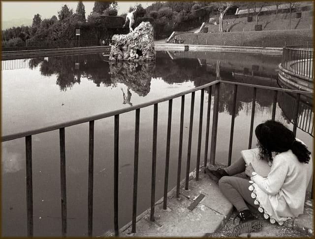Jardin du Boboli, fontaine de Neptune