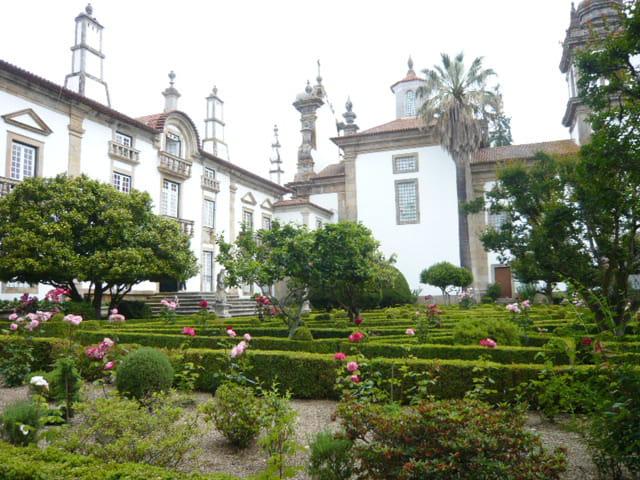 Jardin du palais Mateus