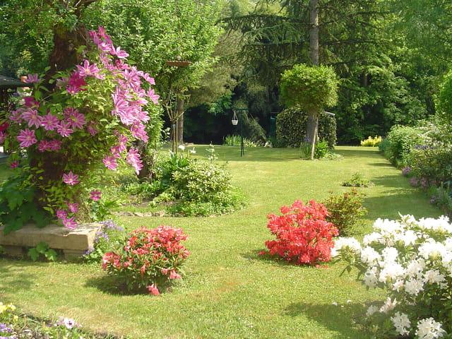 jardin fleuri par marie claire royer sur l 39 internaute. Black Bedroom Furniture Sets. Home Design Ideas