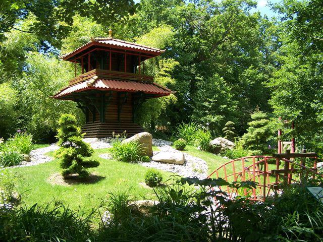 jardin japonais par muriel guerin sur l 39 internaute. Black Bedroom Furniture Sets. Home Design Ideas