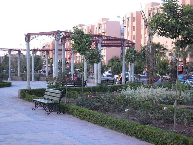Jardin public al badi3